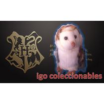 Peluche Lechuza Hogwarts Ch Harry Potter Igo Coleccionables!