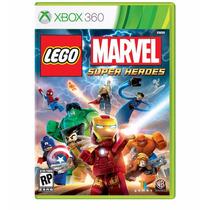 Lego Marvel Super Heroes Xbox 360 Nuevo Sellado Envio Gratis
