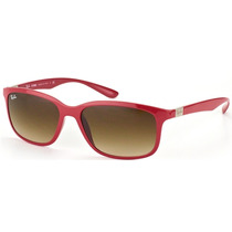 Lentes Ray Ban Liteforce Rb 4215 6126-13 Red Coffe Gradient