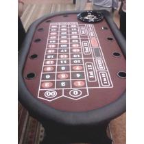 Mesa De Casino Ruleta, Texas Holdem, Baccarat Sencilla