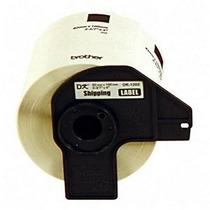 Rollo De 300etiquetas Blancas Pre-cortadas 62mmx100mm