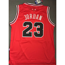 Jersey Clasico Michael Jordan 23 Chicago Bull Nike Nba Rojo