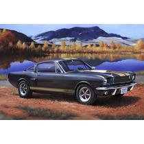 Modelo De Coche - Revell 1:24 Shelby Mustang Gt 350 H Kit Se