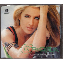Graciela Mauri Cd. Single Cuentame Otra Historia 1998 Mn4