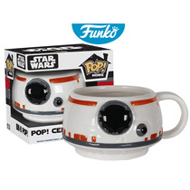 Taza Ceramica Mug Pelicula Star Wars Bb8 Funko Pop Home