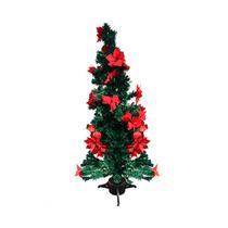 Arbolito De Navidad Con Fibra Óptica Y Leds Queen Sense