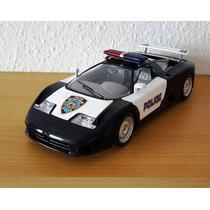 1991 Bugatti 11 Ceb Nypd Police Tuning 1/18