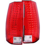 Cv Tahoe /suburban 07-up Led T.l Red/clear