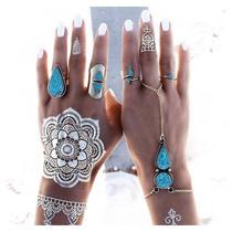 Tatuajes Metalicos 4 Planillas