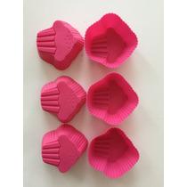 Moldes De Silicon Quequitos En Forma De Cupcake ¿ 8 Piezas