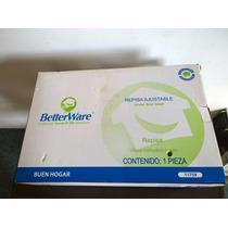 Repisa Ajustable Betterware En Plastico / Acero Inoxidable