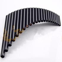 Flauta De Pan Profesional Curva 22 Tubos Ecológica Viento