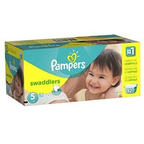 Pampers Pañales Swaddlers Tamaño Paquete De 5 Gigante 92 Con