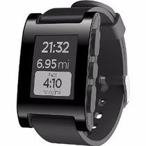 Reloj Pebble Smartwatch For Iphone Android Negro Rojo Blanco