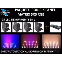 Paquete Iron-pix Panel 5x5 Sun Star