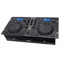 Mixer Doble Reproductor Gemini Cdm-4000 Cd Mp3 Usb Media