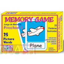 26129 Memoria Inglés Preescolar Dos 50 Piezas De Teach Play