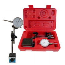 Calibrador Indicador Caratula 0-1 Juego Con Base Magnetica