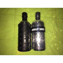 Estuches Disco Y Rock De Absolut Vodka Perfecto Estado !