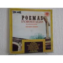 Poemas Inmortales - Jorge Manuel Hernández, Locutor