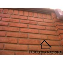 Mt2 Ladrillo Tabique Rojo 6x12x24 P/fachada 100% Aparente