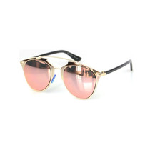 Lentes De Sol Moda Fashion Rose Gold Color Oro Rosa