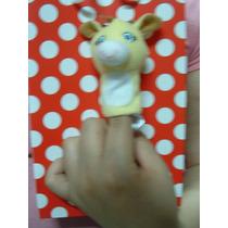 Peluche Girafa Marioneta/titere Tipo Teatro Guiñol