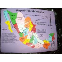Gcg Rompecabezas Didactico Mapa De Mexico De Fomi Vmj