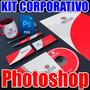 Kit Identidad Corporativa Photoshop Mas Increibles Regalos!!