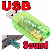 Tarjeta De Sonido Usb Audio 5.1 Digital 3d Pc Laptop
