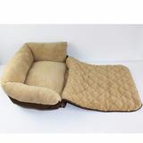 Sofa Cama Para Perros Mediana, Mascotas, Gatos, Lavable