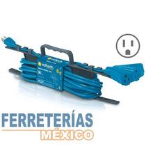 Extension Triple Aterrizada 8 Mt T. Abanico Voltech 48063