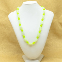 Collar De Jade Natural Tallado -30%