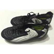 Zapato De Futbol Soccer Profesional Garcis Piel Kgro