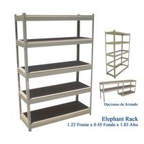 Elephant Rack Con Aglomerado 1.22x0.45x1.83