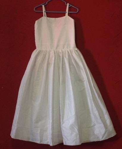 dcaf93b4a Elegante Vestido Shantug Seda Fiesta Primera Comunión Boda en venta ...