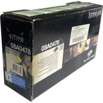 Toner Lexmark 08a0478 Original 6,000 Pags P/ E320 E322 Negro
