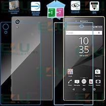 Cristal Templado Sony Z5 Compact Delantero + Trasero