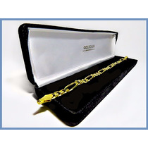 Pulsera Oro Amarillo Solido 10k Mod. Cartier De 7mm 16grs