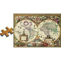 Ravensburger - 1000 Piezas 19004-mapa Antiguo Del Mundo