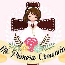 Invitacion De Primera Comunion Kit Imprimible Personalizado