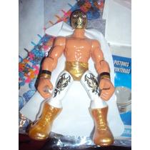 Figura Luchador Mexicano Mistico Muñeco Patones Lucha Libre