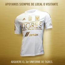 Jersey Tigres Gala 2014 Blanco Dorado