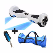 Scooter Hoverboar Patineta Electrica Control Remoto D Regalo