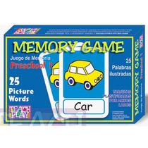 26112 Memoria Inglés Preescolar Uno 50 Piezas De Teach Play