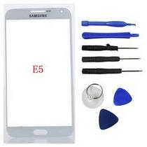 Touch Gorilla Glass Original Samsung Galaxy E5 Blanco