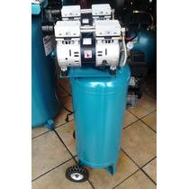 Compresor Para Aire Silencioso Libre De Aceite 2 Hp.