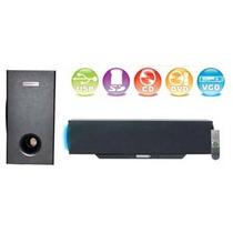 Soundbar De 80w + Woofer Compatible Con Cd Dvd Usado