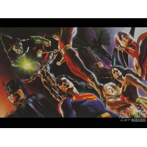 Justice League Of America Poster By Alex Ross Hm4