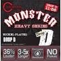 Cleartone Monster Heavy Cuerdas Drop D 11-56 Guitarra Metal